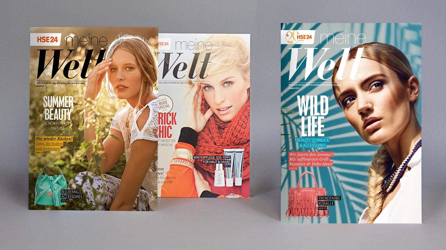 Alle Jahre wieder: 12 inspiriende Magazinausgaben plus 2 trendige Fashion-Specials (Sommer/Winter)